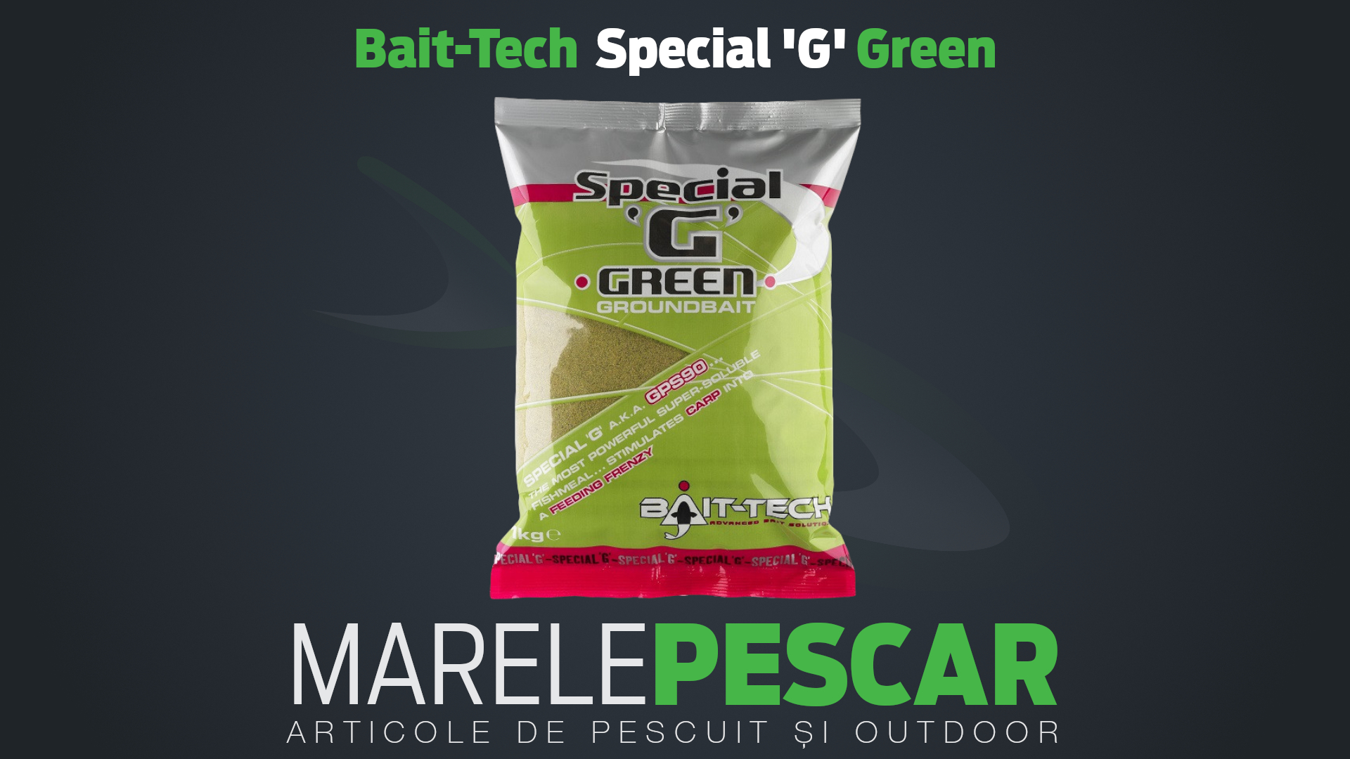 Bait-Tech Special G Green