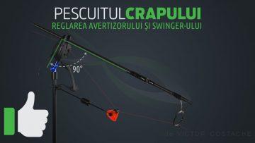 Pescuitul crapului | Reglarea avertizorului și swinger-ului