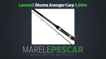 Lansetă Okuma Avenger Carp 3,90m