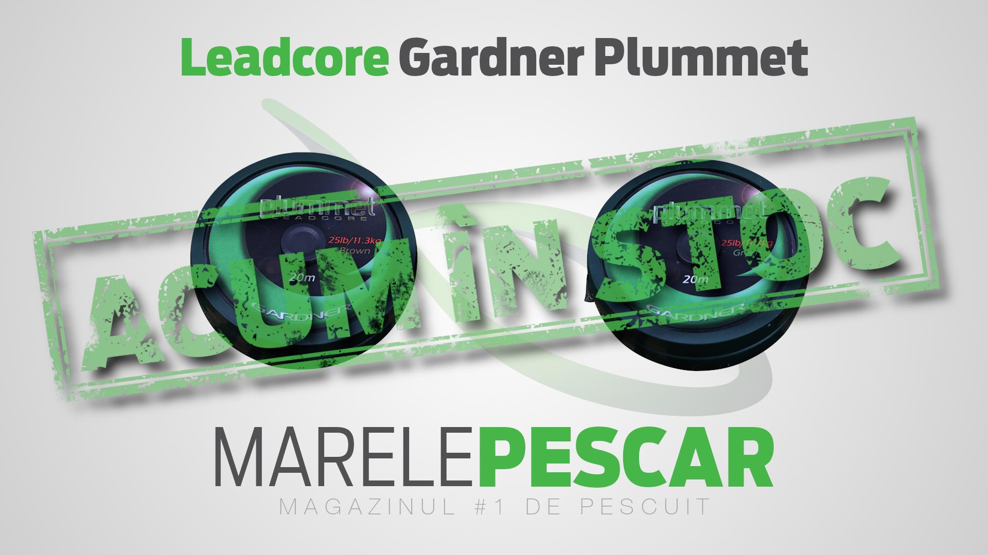 Leadcore Gardner Plummet (acum în stoc)