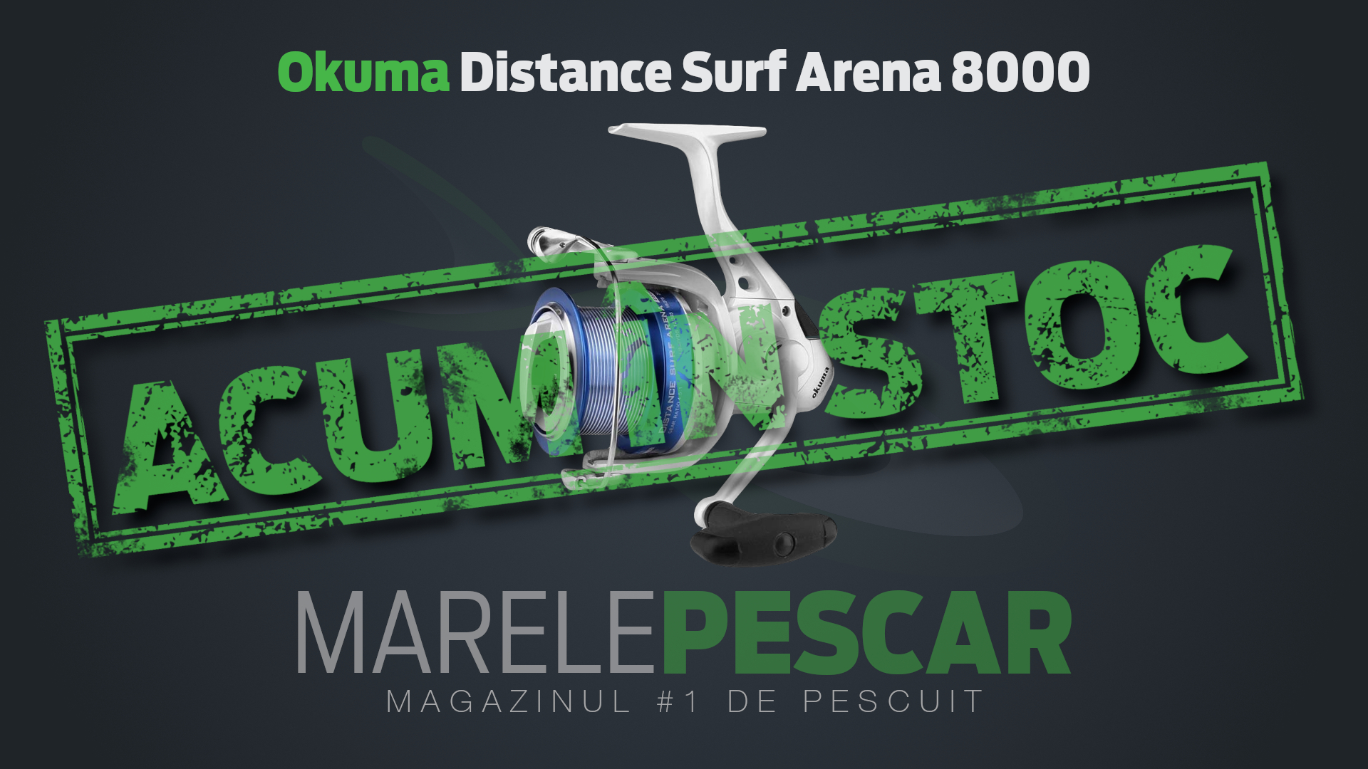 Okuma Distance Surf Arena 8000 (acum în stoc)