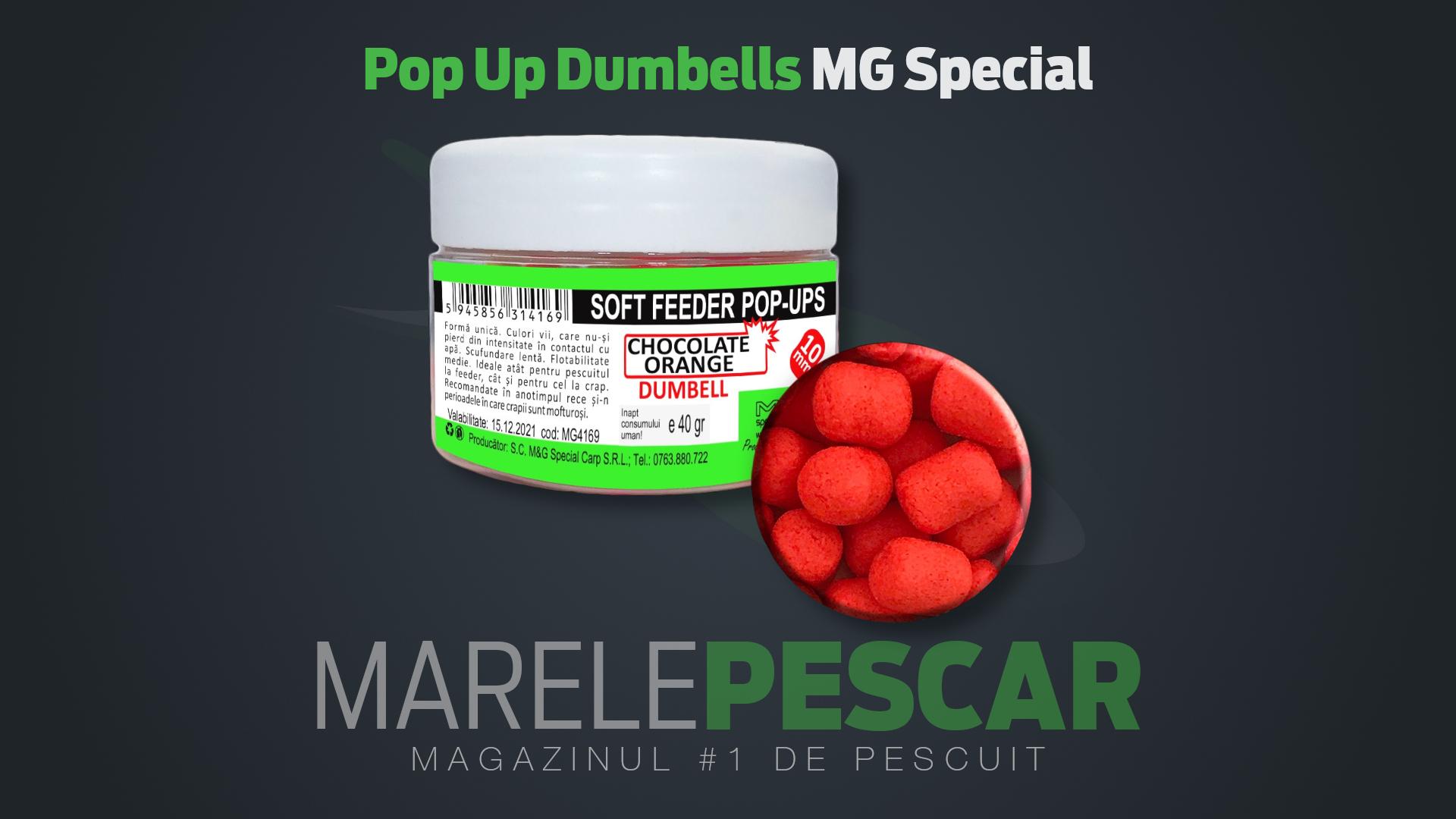 Pop Up Dumbells MG Special Carp Soft Feeder