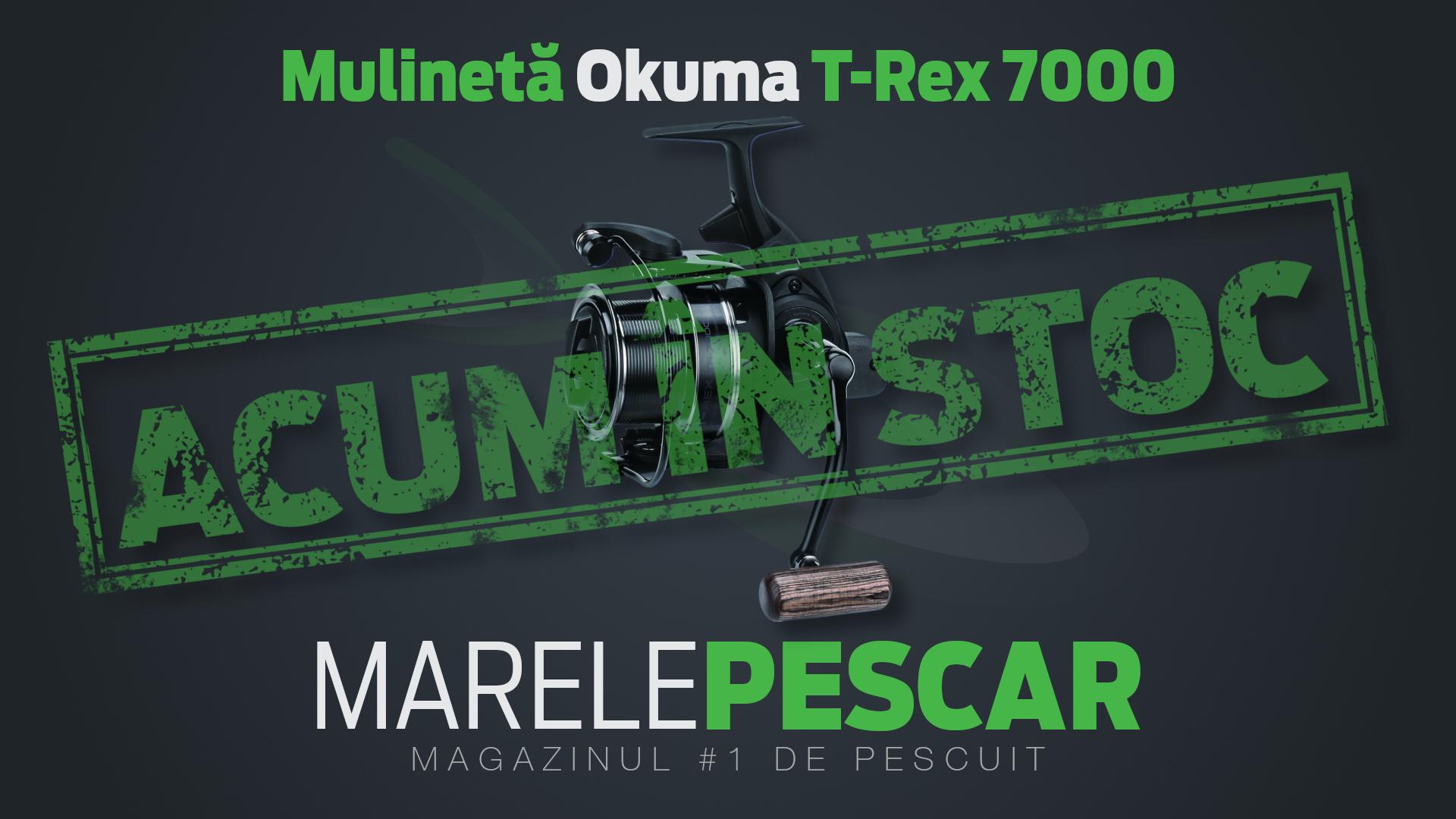 Mulinetă Okuma T-Rex 7000 (acum în stoc)