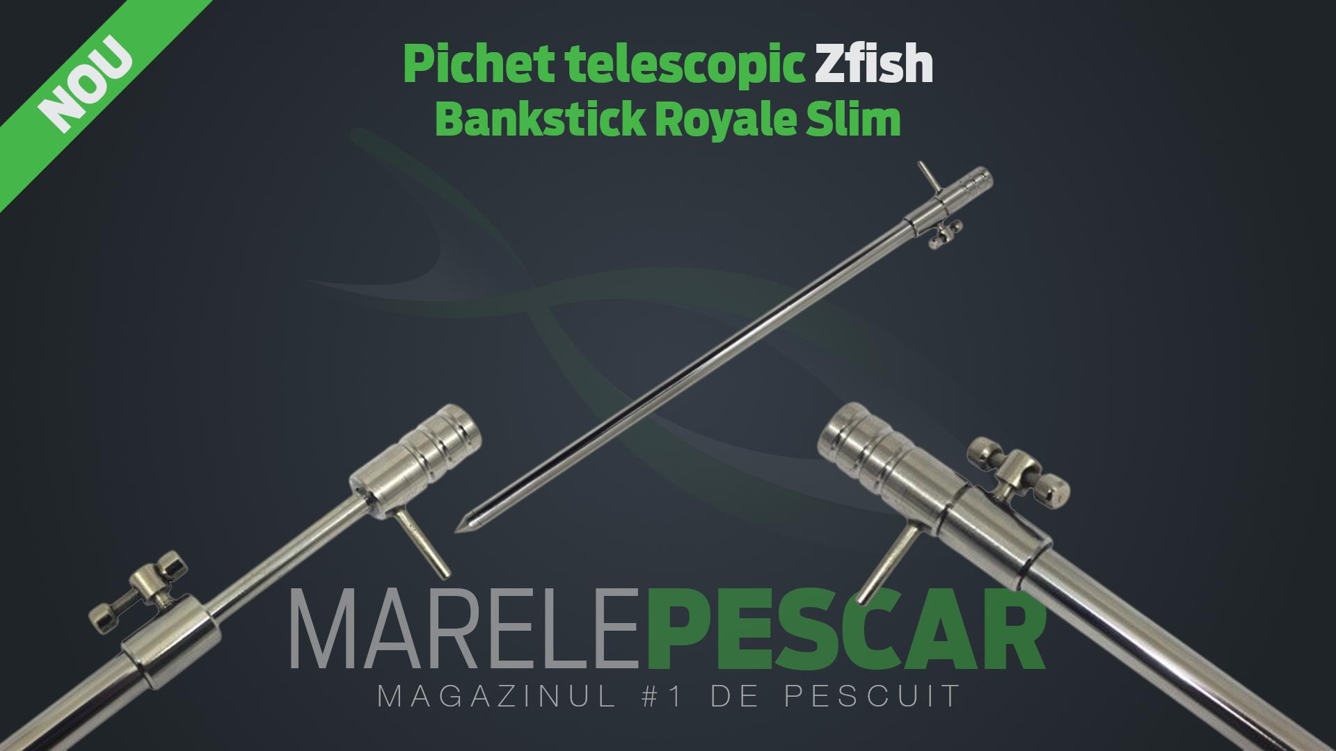 Pichet telescopic Zfish Bankstick Royale Slim