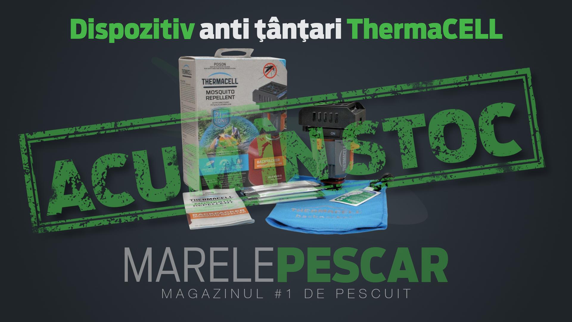 Dispozitiv anti țânțari ThermaCELL (acum în stoc)