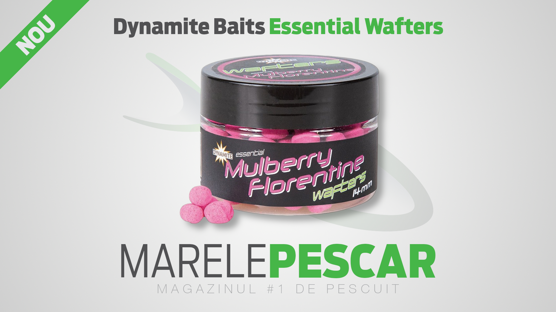 Dumbell critic echilibrat Dynamite Baits Essential Wafters