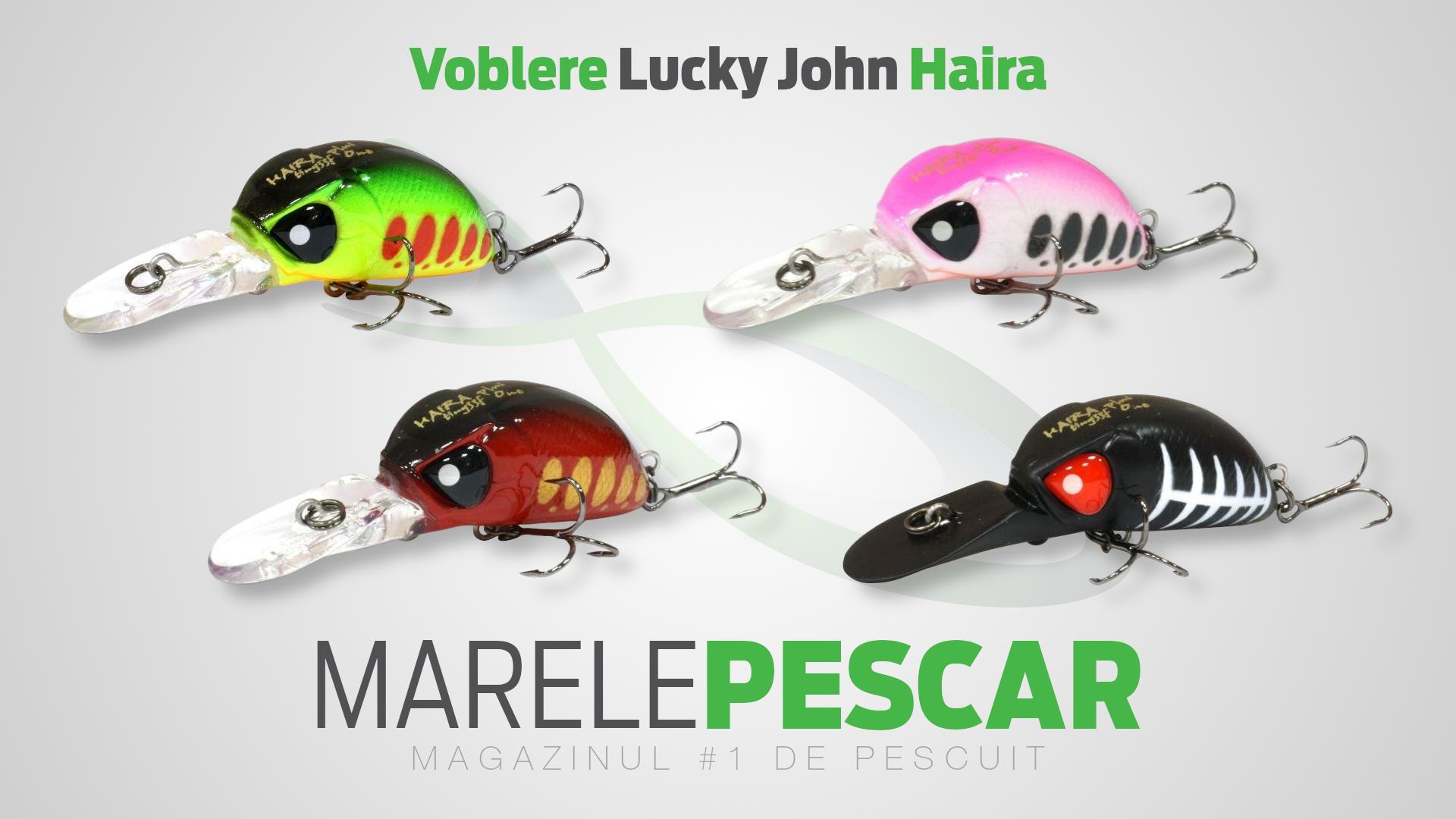 Voblere Lucky John Haira