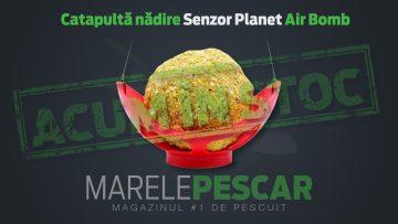Catapultă pentru nădire Senzor Planet Air Bomb (acum în stoc)