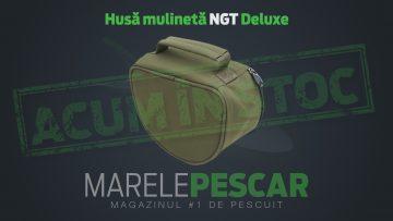 Husă mulinetă NGT Deluxe (acum în stoc)