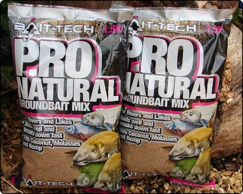 Nada Bait-Tech Pro Natural, 1.50kg