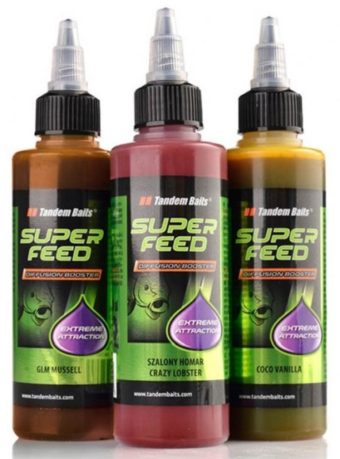 Atractant Lichid Tandem Baits SuperFeed Diffusion Booster, 100ml