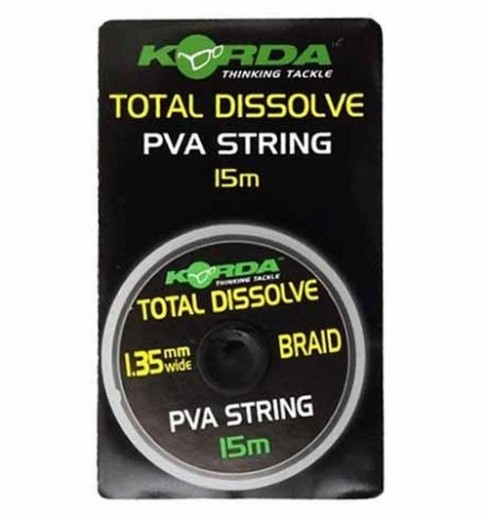 Fir PVA Solubil Korda String Total Dissolve, 1.35mm, 15m