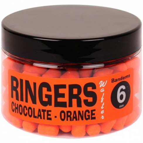 Boilies Critic Echilibrat Ringers Chocolate Orange Bandem Wafters, 70g