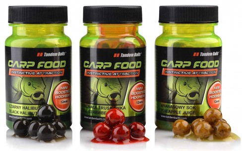 Boilies de Carlig Dipuit Tandem Baits Mini Boosted Hookers, 12mm, 50g