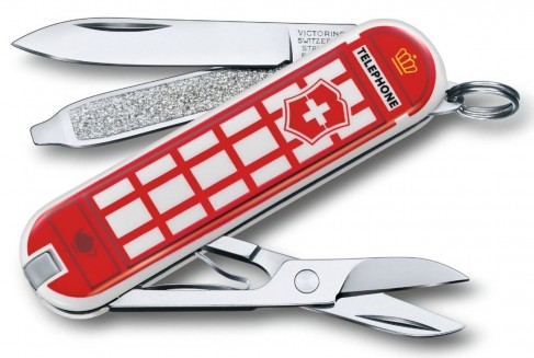 Briceag Victorinox Classic Limited Edition, A Trip to London, 5.8x1.8x1cm