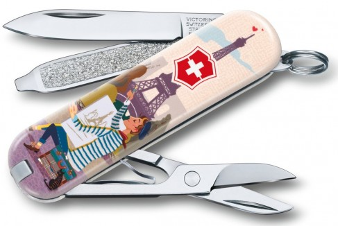 Briceag Victorinox Classic Limited Edition, The City of Love, 5.8x1.8x1cm