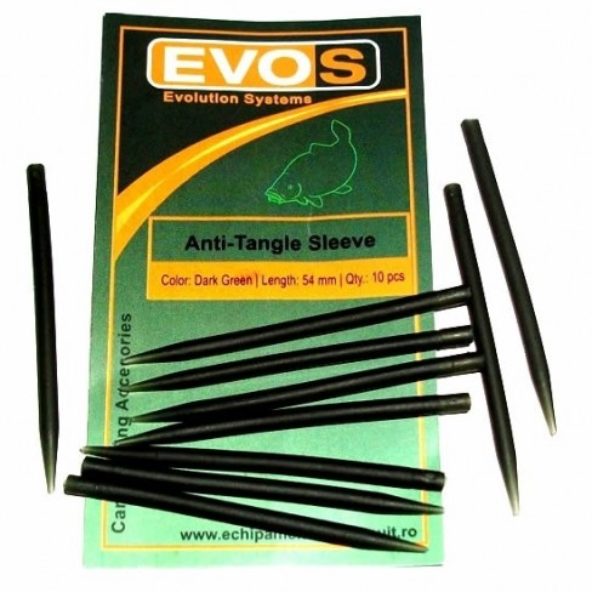 Conuri Antitangle Evos, Dark Green, 10buc/plic