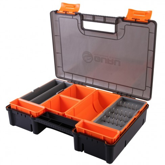 Cutie Rigida pentru AccesoriiRiguri Guru Fusion Feeder Box, 35x24x8cm