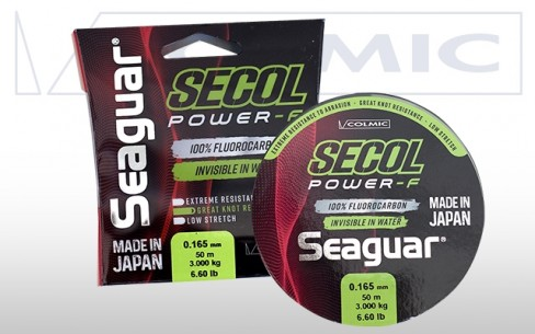 Fir Fluorocarbon Colmic Seaguar Secol Power-F 50m