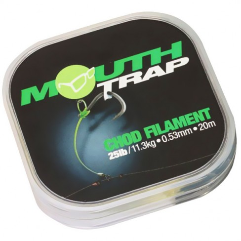Fir Monofilament Korda Mouthtrap Chod Filament, 20m
