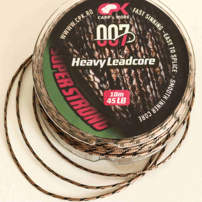 Fir Leadcore CPK Heavy, 45lb, 10m