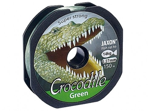 Fir Monofilament Jaxon Crocodile Green, 150m