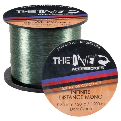 Fir Monofilament The One Infinite Distance Verde 1200m