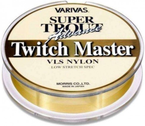Fir Monofilament Varivas Super Trout Twich Master, Gold, 100m