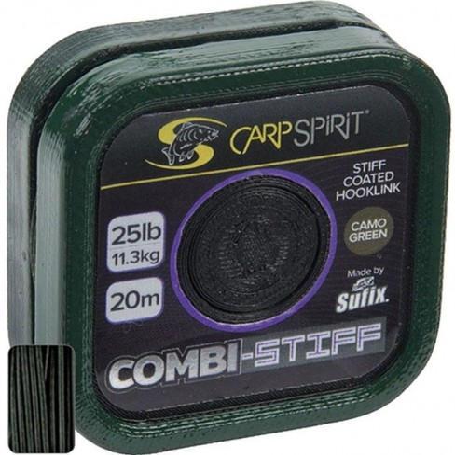 Fir Textil Carp Spirit Combi Stiff, Camo Green, 20m