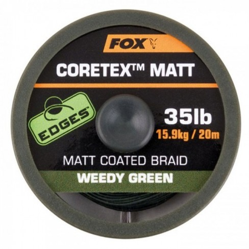 Fir Textil FOX Edges Coretex Weedy Green, 20m