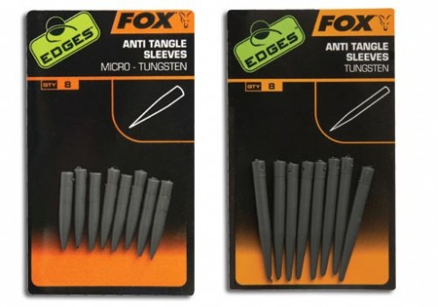 Fox Edges Tungsten Antitangle Sleeves