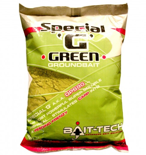 Groundbait Bait-Tech Special 'G' Green, 1kg