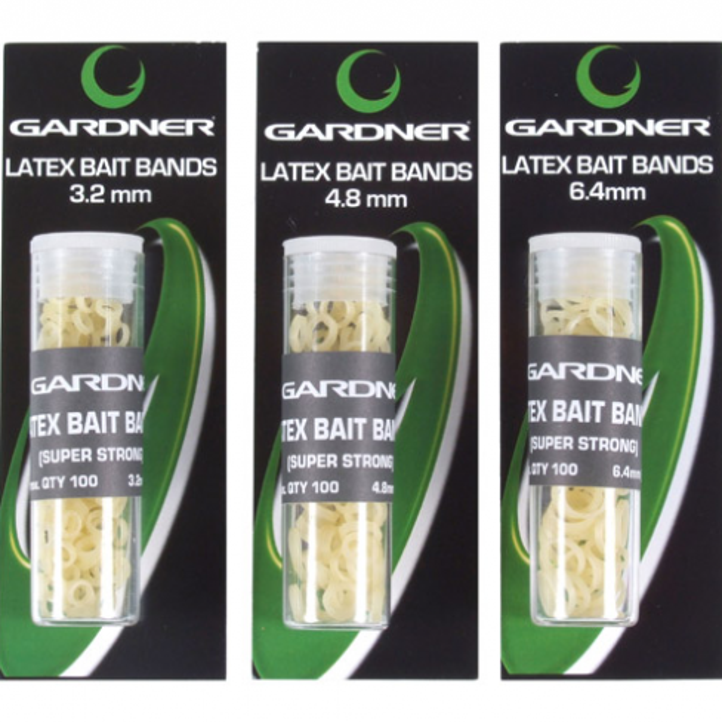 Latex Bait Bands Gardner