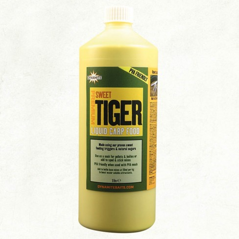 Lichid Atractant Dynamite Baits Sweet Tiger Liquid Carp Food, 1l