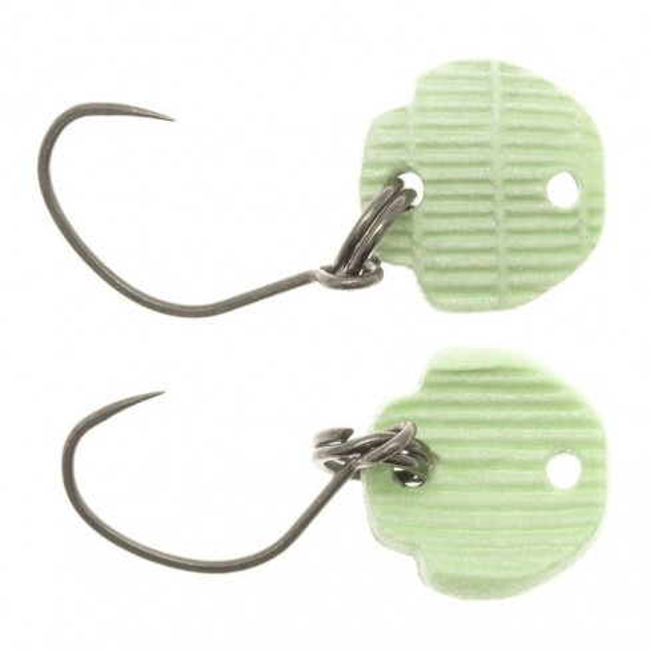 Lingurita Oscilanta Neo Style Bottom Killer, Culoare 06 Super Green Low, 1x0.9cm, 0.5g