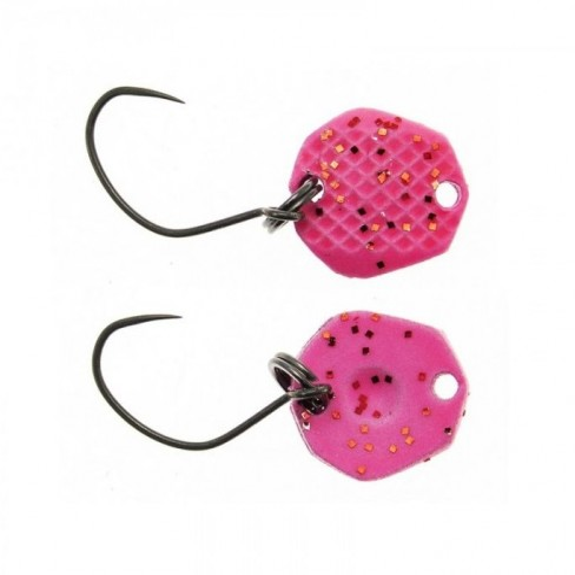 Lingurita Oscilanta Neo Style NST, Culoare 81 Dark Pink Glow Flame, 1.15x1.15cm, 0.4g