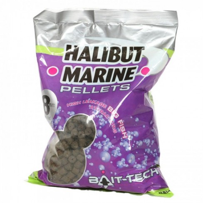 Pelete Bait-Tech Halibut Marine 900g