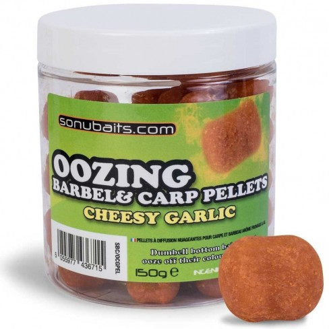 Pelete de Carlig Sonubaits Oozing Barbel&Carp, 150g