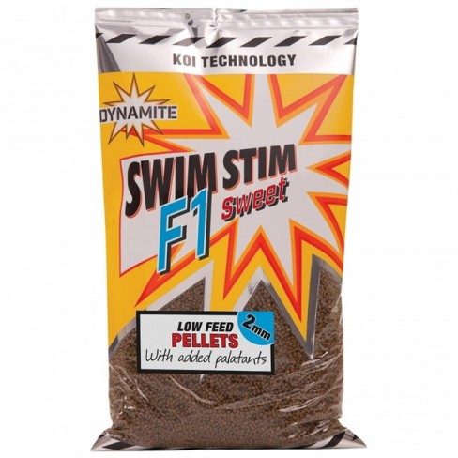 Pelete Dynamite Baits Swim Stim F1 Sweet, 900g