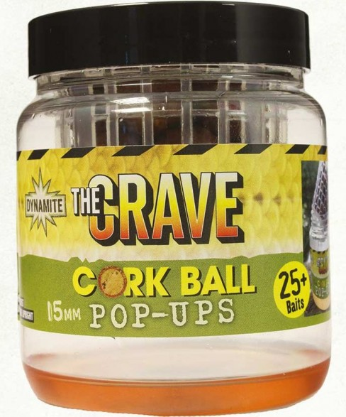 Pop-up Dynamite Baits The Crave Foodbait Cork Ball