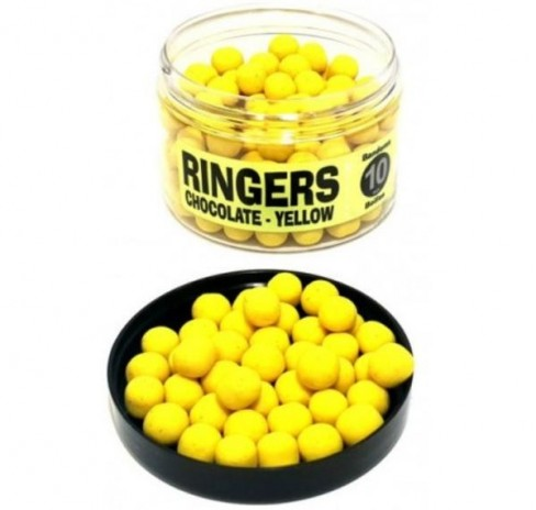 Pop Up Critic Echilibrat Ringers Chocolate Yellow Bandem Wafters, 70g