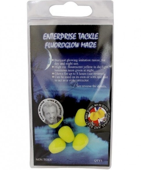 Porumb Artificial Flotant Enterprise Tackle FluoroGlow Maize, 5buc/plic