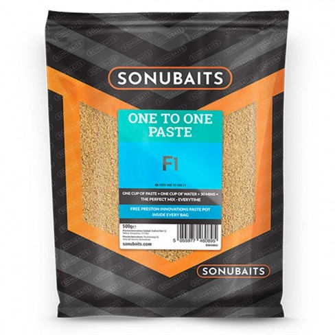 Pulbere Pasta Solubila Sonubaits One to One Paste, 500g