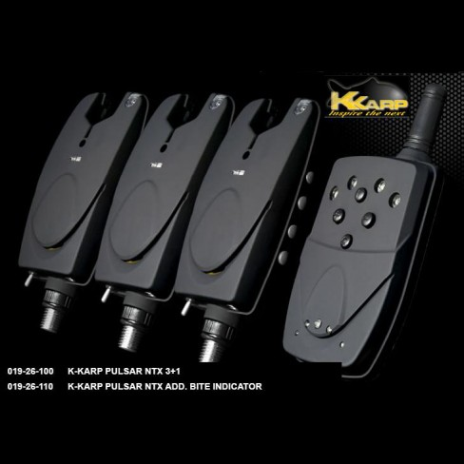 Set Avertizori K-Karp Pulsar NTX 3 + 1