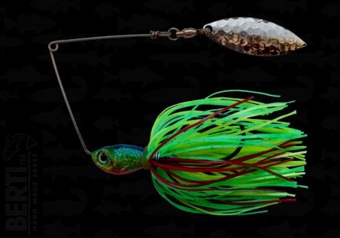 Bertilure Spinnerbait Salcie nr.2 11gr Skirt Siliconic Fire Tiger