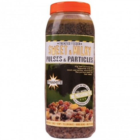 Dynamite Baits - Frenzied Sweet & Milky Pulses & Particles Jar