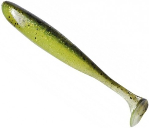 Shad Keitech Easy Shiner, Watermelon Lime (LT04), 5cm, 12buc/plic