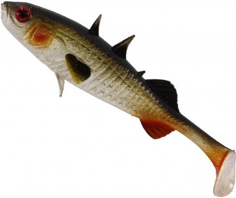 Shad Westin Stanley the Stickleback Shadtail, Culoare Lively Roach, 9cm, 7g, 5bucplic