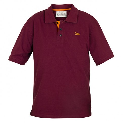 Tricou Fox Chunk Polo Burgundy / Orange