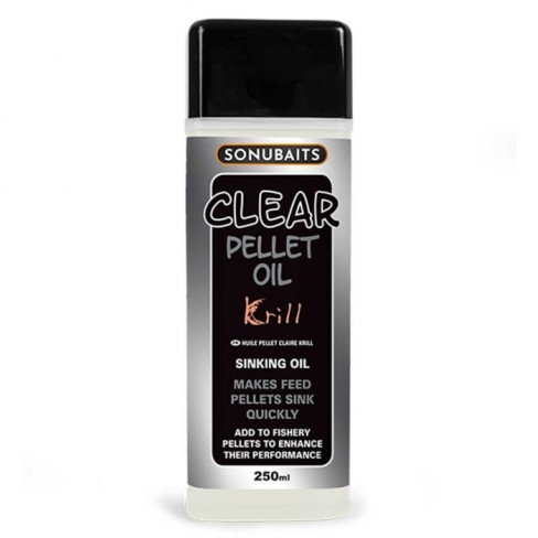 Ulei Atractant Sonubaits Clear Pellet Oil, 250ml